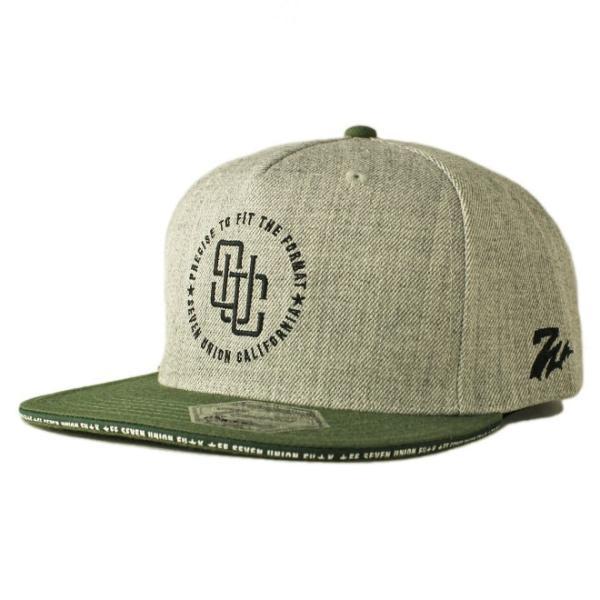 セブンユニオン 7UNION スナップバックキャップ 帽子  メンズ レディース wt gy bk|liberalization|05
