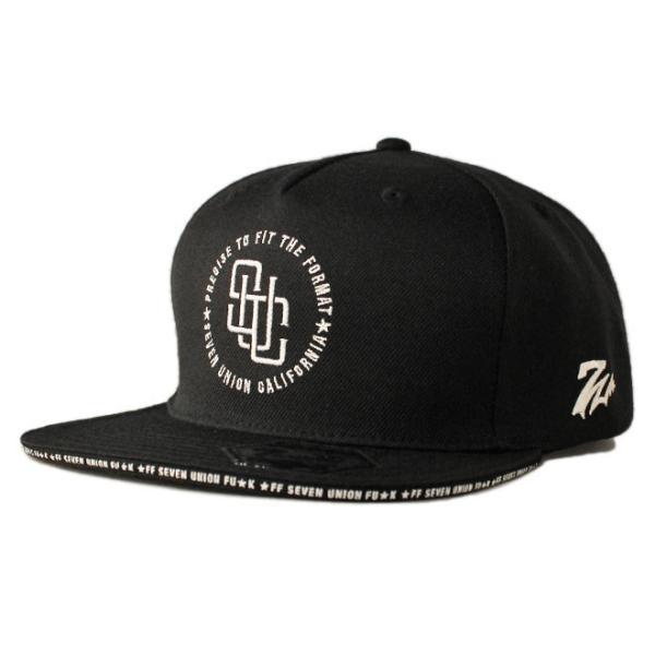 セブンユニオン 7UNION スナップバックキャップ 帽子  メンズ レディース wt gy bk|liberalization|06