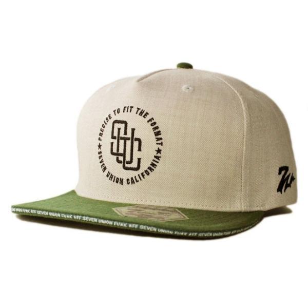 セブンユニオン 7UNION スナップバックキャップ 帽子  メンズ レディース wt gy bk|liberalization|07