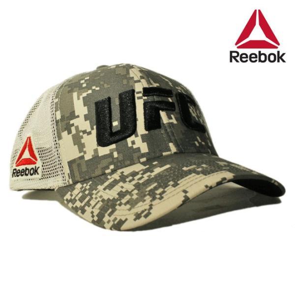 546c44ee リーボック ユーエフシー コラボ メッシュキャップ スナップバック 帽子 Reebok UFC メンズ レディース 迷彩 ol ptn