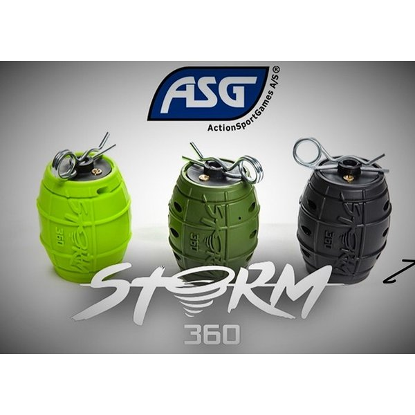 STORM360 IMPACT GRENADE  ( Grey/Gris  Black / Noir  Army Green  Red/Rouge   Lime Green )|liberator|02