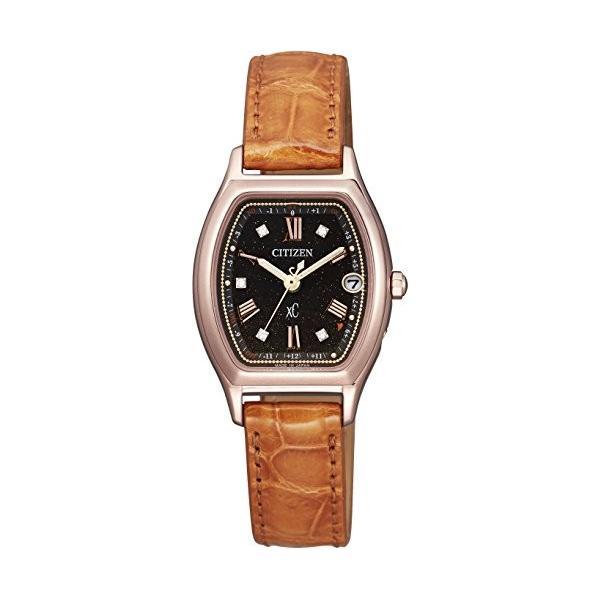 シチズンCITIZEN 腕時計 xC クロスシー 100周年記念限定モデル エコ・ドライブ 電波時計 ティタニアライン ハッピーフライト 日