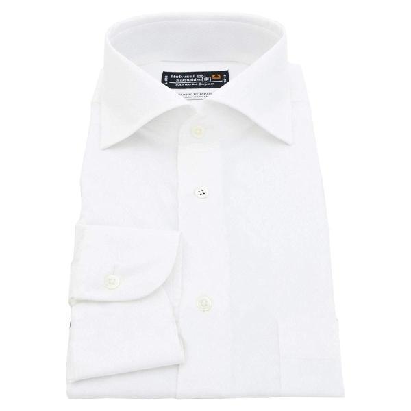 BUSINESSMAN SUPPORT(ビジネスマンサポート) 日本縫製 長袖ワイシャツ 日本生地 形態安定 jp-6 022-M|liberty-online