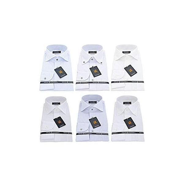 BUSINESSMAN SUPPORT(ビジネスマンサポート) 日本縫製 長袖ワイシャツ 日本生地 形態安定 jp-6 022-M|liberty-online|02