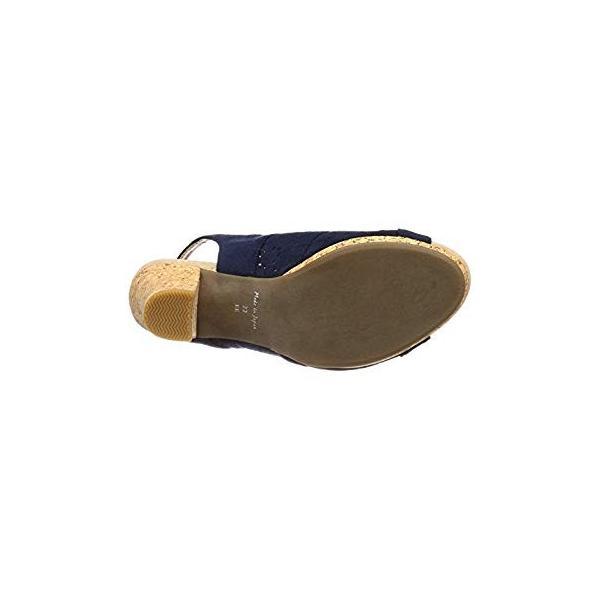 イング サンダル 2820 レディース ネイビースエード 24.5 cm