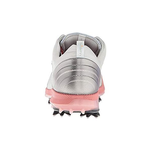 エコー ゴルフシューズ GOLF BIOM G 2 FREE CONCRETE/SILVER PINK EU 37(23.5 cm) 2.5
