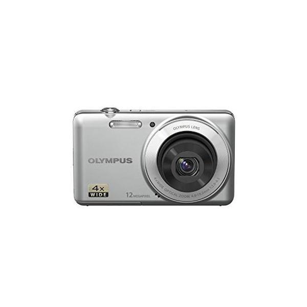 OLYMPUS デジタルカメラ VG-110 シルバー 1200万画素 広角27mm 光学4倍ズーム VG-110 SLV