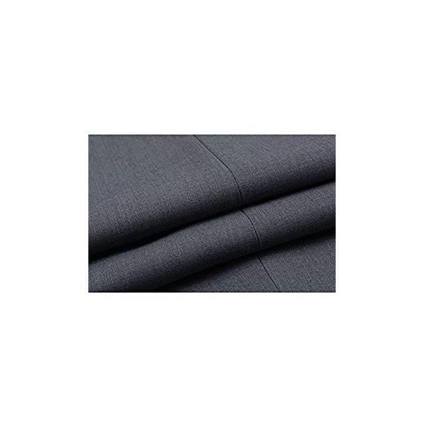VYOOU メンズ スラックス ビジネス 通勤 ノータック スリム 高品質 薄手 厚手 春 夏 秋 冬 オールシーズン (36, グレー)|liberty-online|10