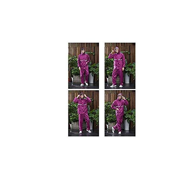 straight(ストレート)レインウェア レインスーツ レインコート 上下セット 通気メッシュ 着脱式合羽 雨具 防水 撥水 バイク 自転 liberty-online 09