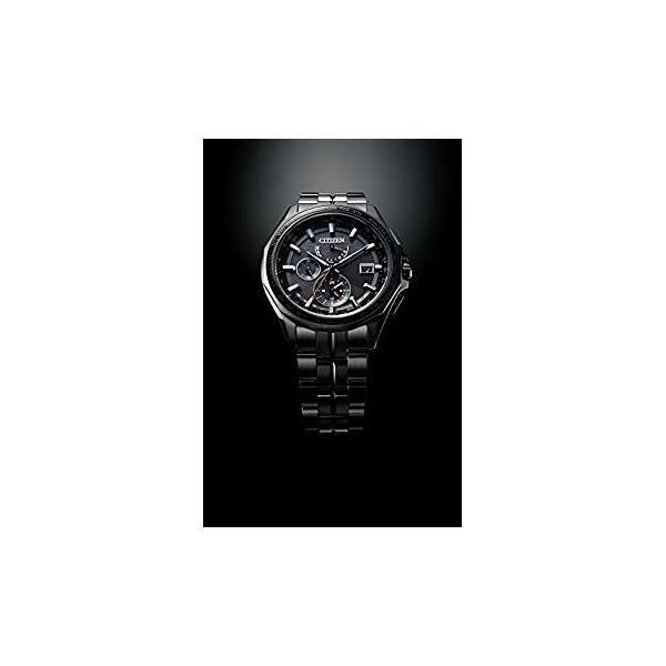 シチズンCITIZEN 腕時計 ATTESA アテッサ Eco-Drive エコ・ドライブ 電波時計 ダブルダイレクトフライト ブラックチタ|liberty-online|02