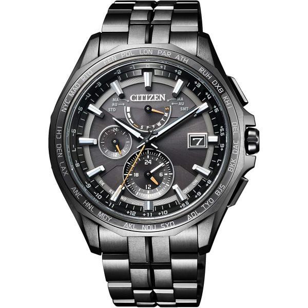 シチズンCITIZEN 腕時計 ATTESA アテッサ Eco-Drive エコ・ドライブ 電波時計 ダブルダイレクトフライト ブラックチタ|liberty-online|03