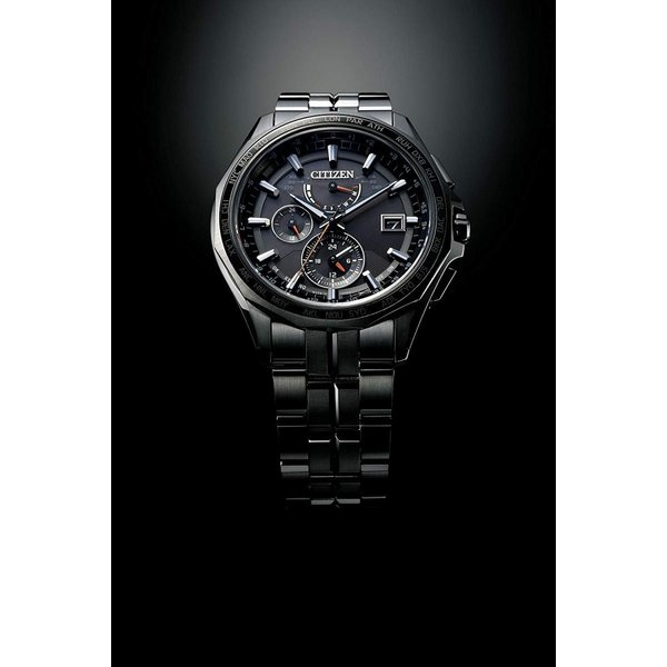 シチズンCITIZEN 腕時計 ATTESA アテッサ Eco-Drive エコ・ドライブ 電波時計 ダブルダイレクトフライト ブラックチタ|liberty-online|05