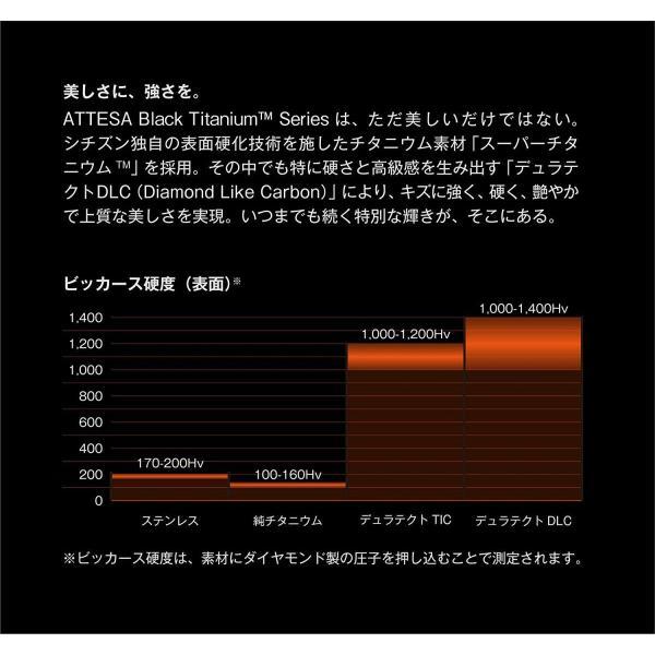 シチズンCITIZEN 腕時計 ATTESA アテッサ Eco-Drive エコ・ドライブ 電波時計 ダブルダイレクトフライト ブラックチタ|liberty-online|06