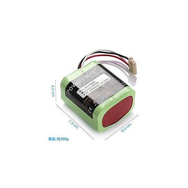 Powerextra iRobot Braava バッテリー 3000mAh ブラーバ380jバッテリー Irobot Braava 371|liberty-online|09