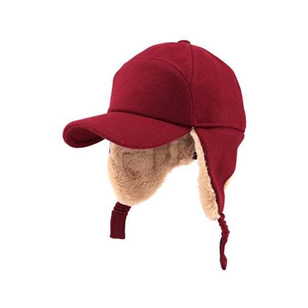 Gisdanchz Outdoor キャップ 釣りキャップ メンズ 帽子 ウール 60代メンズファッション レディース 秋 冬 防寒 キャッ|liberty-online|05