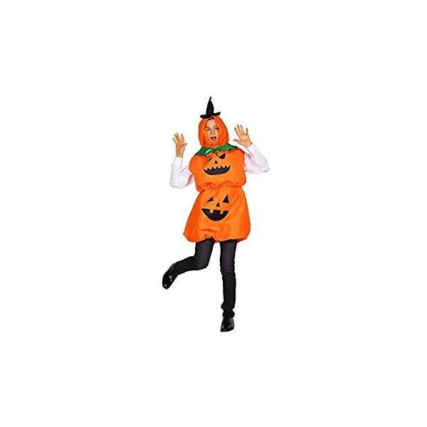 だんごパンプキン かぼちゃ 着ぐるみ ☆新作入荷☆新品 ユニセックス コスプレ オレンジ 未使用品