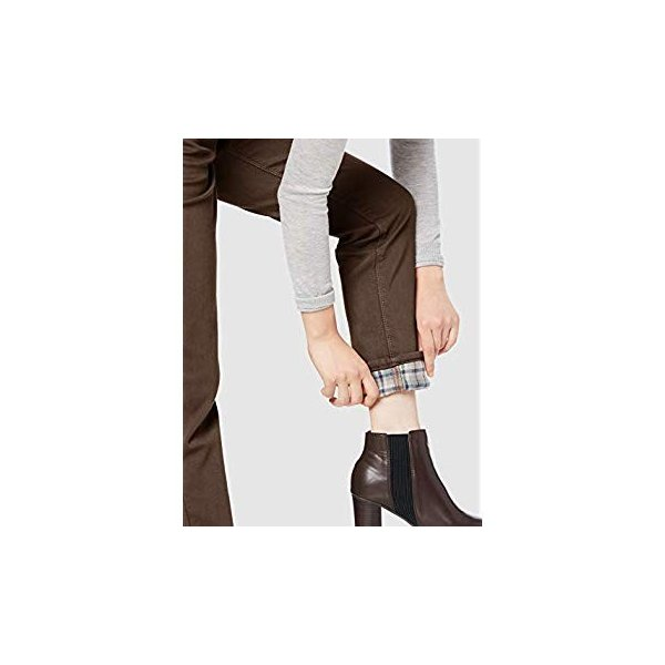 ミス エドウイン パンツ 冬には欠かせない 暖かい ボディファイヤー 股上深め ゆったりストレート インターナショナルベーシック レディース|liberty-online|07