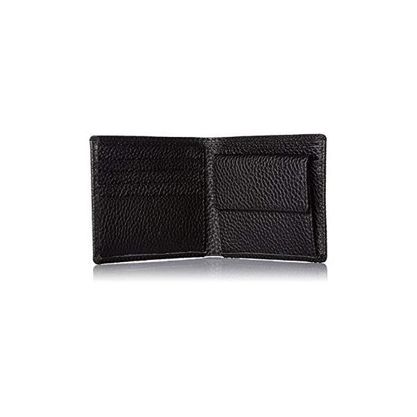 カンサイセレクション メンズ 二つ折 財布 S-KSE30044BK ブラック One Size liberty-online