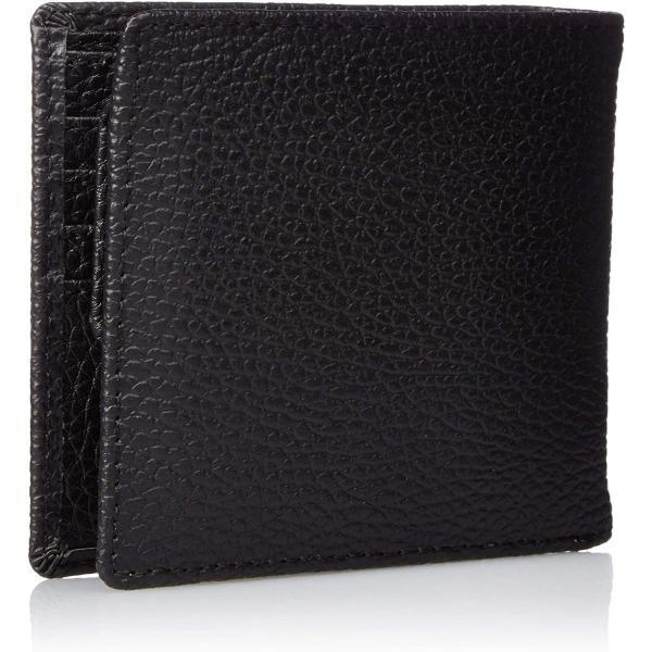 カンサイセレクション メンズ 二つ折 財布 S-KSE30044BK ブラック One Size liberty-online 02
