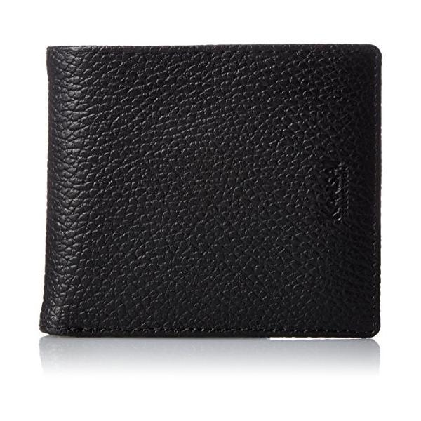 カンサイセレクション メンズ 二つ折 財布 S-KSE30044BK ブラック One Size liberty-online 03