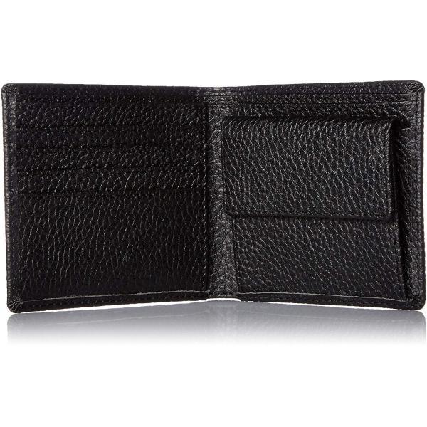 カンサイセレクション メンズ 二つ折 財布 S-KSE30044BK ブラック One Size liberty-online 05