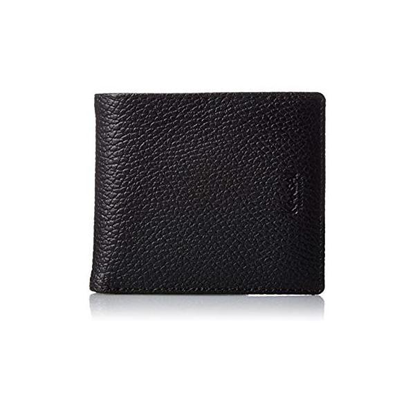 カンサイセレクション メンズ 二つ折 財布 S-KSE30044BK ブラック One Size liberty-online 06