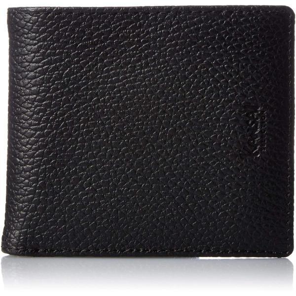 カンサイセレクション メンズ 二つ折 財布 S-KSE30044BK ブラック One Size liberty-online 08