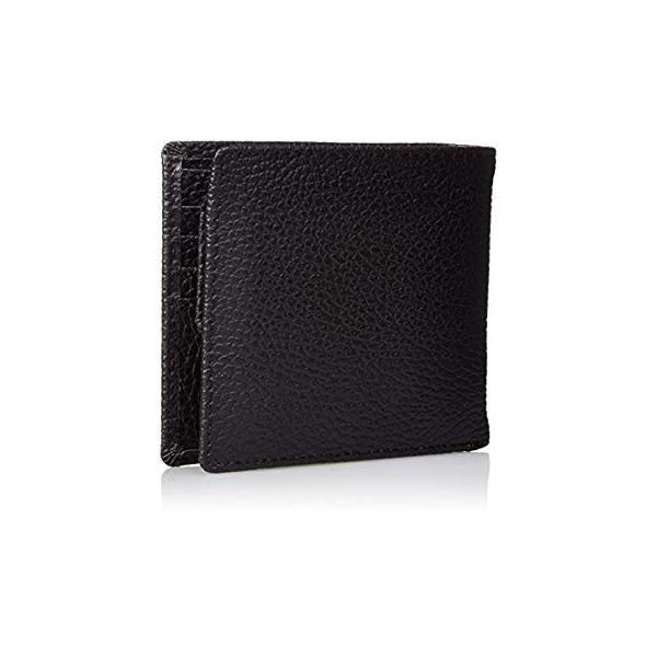 カンサイセレクション メンズ 二つ折 財布 S-KSE30044BK ブラック One Size liberty-online 09