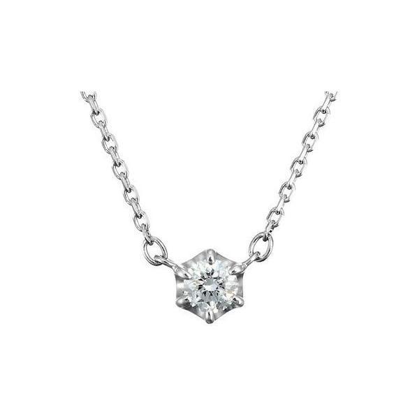 4℃(ヨンドシー) 0.1ctダイヤモンド プラチナネックレス 111033125001 liberty-online 01