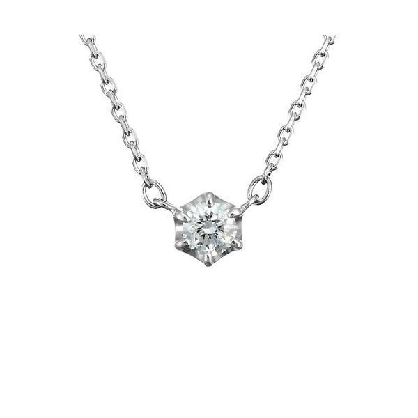 4℃(ヨンドシー) 0.1ctダイヤモンド プラチナネックレス 111033125001 liberty-online 02
