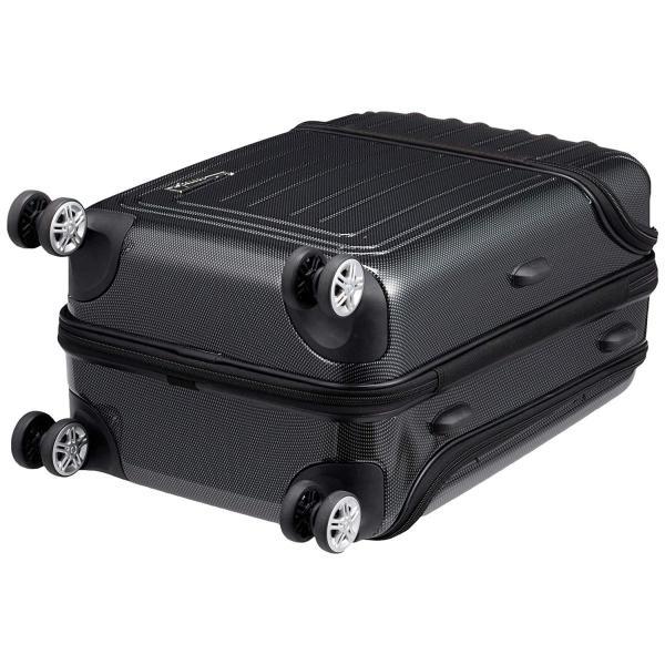 トラベリスト スーツケース ジッパー トップオープン トリニティ 機内持ち込み可 36L 53.5 cm 3.6kg ブラックカーボン|liberty-online|02