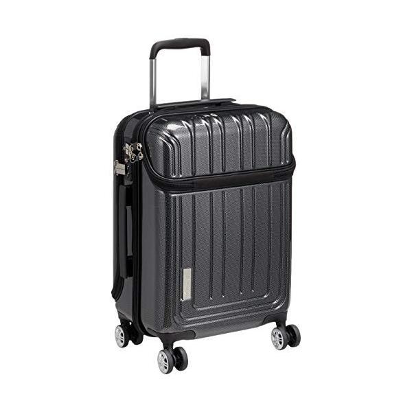 トラベリスト スーツケース ジッパー トップオープン トリニティ 機内持ち込み可 36L 53.5 cm 3.6kg ブラックカーボン|liberty-online|03