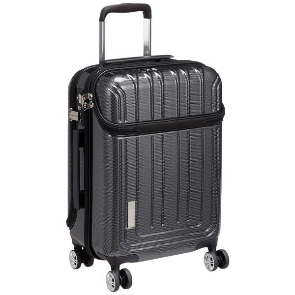 トラベリスト スーツケース ジッパー トップオープン トリニティ 機内持ち込み可 36L 53.5 cm 3.6kg ブラックカーボン|liberty-online|04