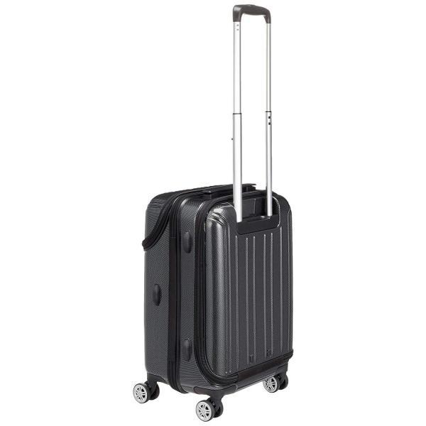 トラベリスト スーツケース ジッパー トップオープン トリニティ 機内持ち込み可 36L 53.5 cm 3.6kg ブラックカーボン|liberty-online|07