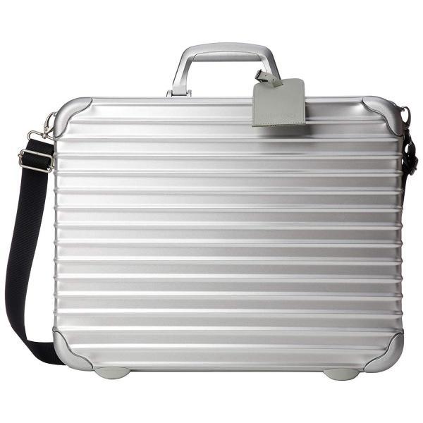 リモワ キャリーバッグ ATTACHE CASE 17L Handcase 1-2日 機内持ち込み可 40 cm 2.5kg Silver liberty-online