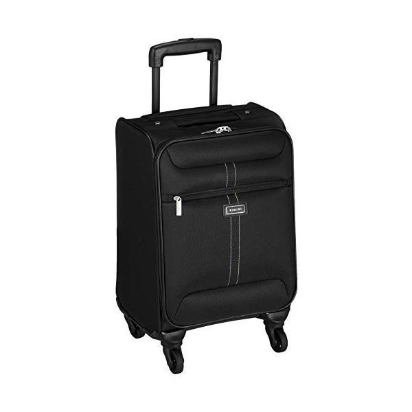 リミニ スーツケース アーサーTR 機内持ち込み可 26L 2.6kg ブラック×ブラック|liberty-online|04