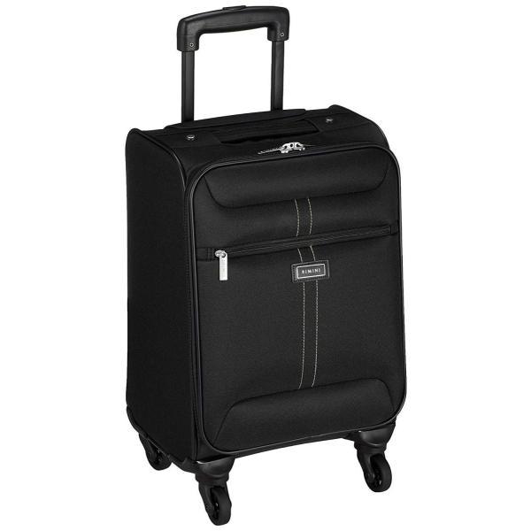 リミニ スーツケース アーサーTR 機内持ち込み可 26L 2.6kg ブラック×ブラック|liberty-online|06