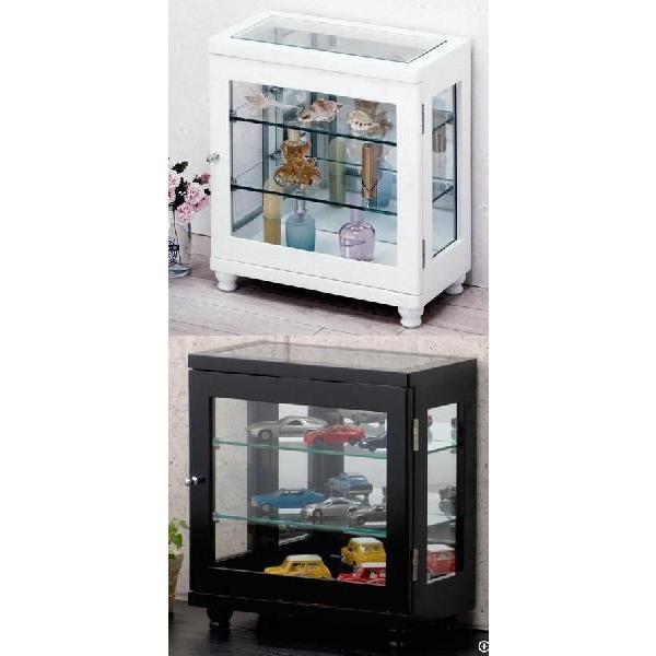 コレクションケース横 キュリオケース キュリオガラスキャビネット 飾り棚 コレクションボックス/ガラスショーケース|liberty