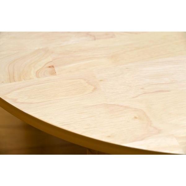 折りたたみテーブル 円形ちゃぶ台 折れ脚丸テーブル 木製ラウンドテーブル 90 丸座卓|liberty|04