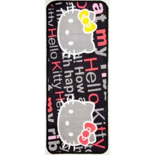 キティカーマット前後セット フロント2枚+リア用   汎用車用フロアマット ローズ liberty 03