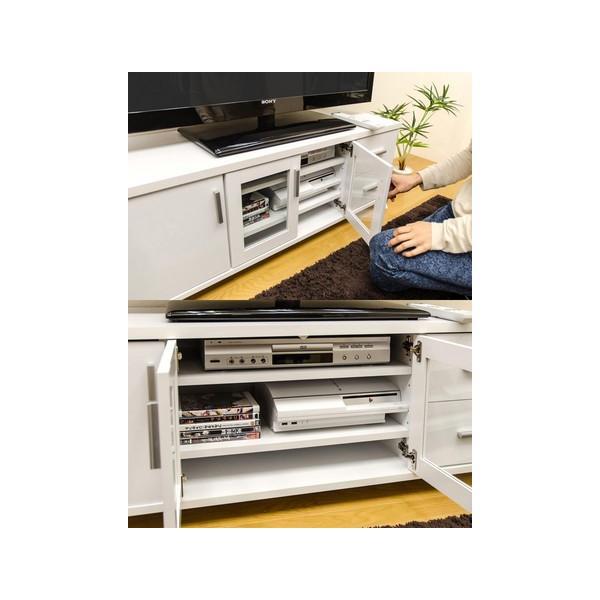アウトレット テレビ台120 TVボード/AVローボード 52型まで オーディオラック|liberty|05
