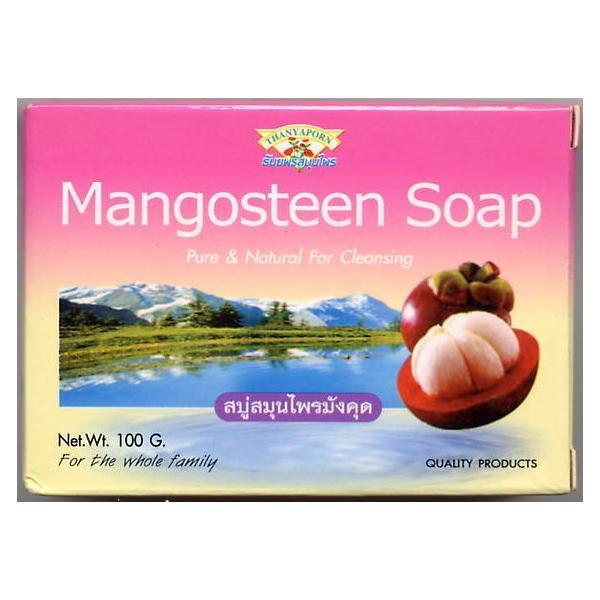 ピュア&ナチュラル マンゴスチン ソープ(タイ ライトニング石鹸)