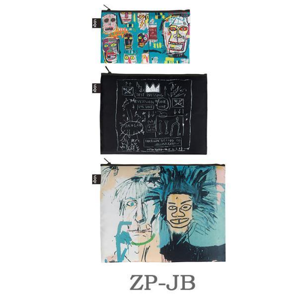 【郵メール便送料無料】ローキー ジップポケットmuseumcollection ポーチ エコバック 折りたたみ 【LOQI】 loqi レディース|licept|05