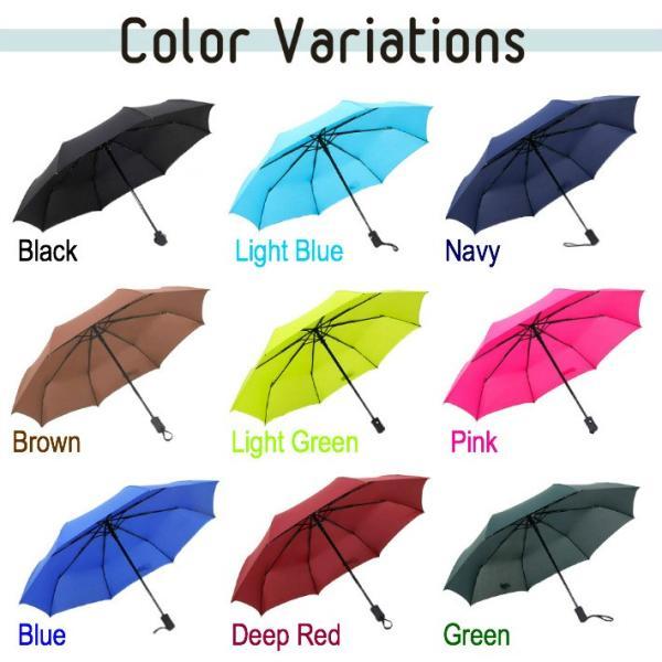 自動開閉 折りたたみ傘 (収納袋付き)  日傘 雨傘  折りたたみかさ かさ|life-mart|02