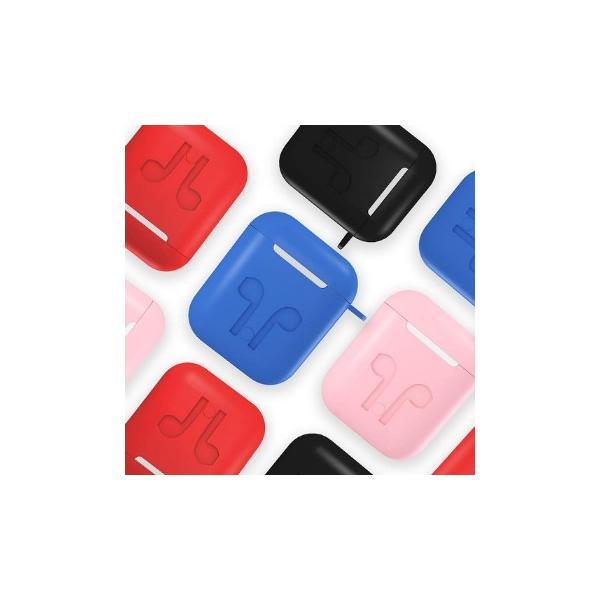 AirPods ケース カバー 収納ケース AppleワイヤレスイヤホンAirPod エアポッド 防塵 耐衝撃 キズ防止 滑り止め シリコン製 衝撃吸収 アップル エアーポッズ|life-mart|06