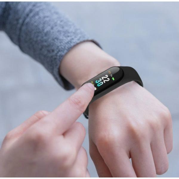 スマートブレスレット 血圧計 心拍計 歩数計 健康管理 天気予報 着信通知 LINE アプリ通知 Bluetooth iphone iOS & Android 日本語APP対応 日本語説明書付き|life-mart|06