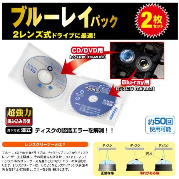エレコム ブルーレイ CD DVD レンズクリーナー CK-BRP 超強力読込回復 湿式 マルチレンズクリーナー|life-shop-mcm|04