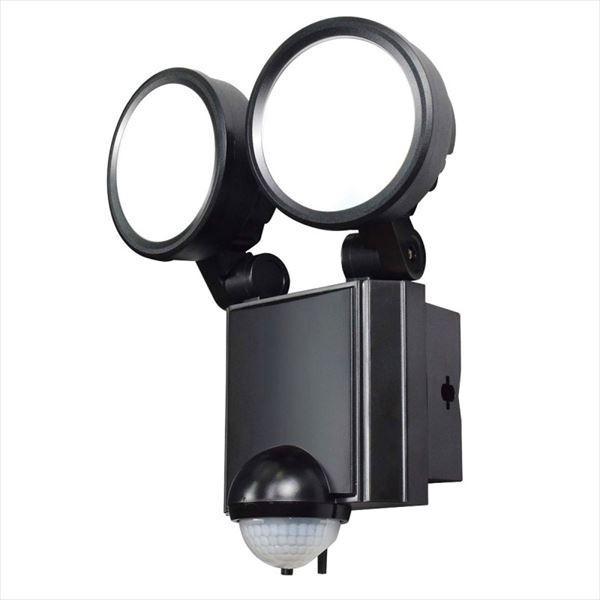 エルパ 屋外用LEDセンサーライト AC電源 8WLED 2灯 ESL-SS802AC