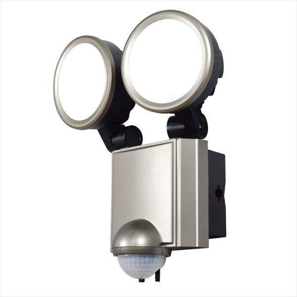 エルパ 屋外用LEDセンサーライト AC電源 10WLED 2灯 ESL-SS1002AC