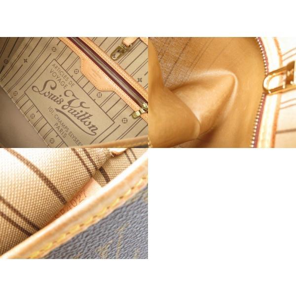 ルイヴィトン ネヴァーフルMM M40156 ショルダーバッグ モノグラム ブラウン LV 0323 中古 LOUIS VUITTON レディース